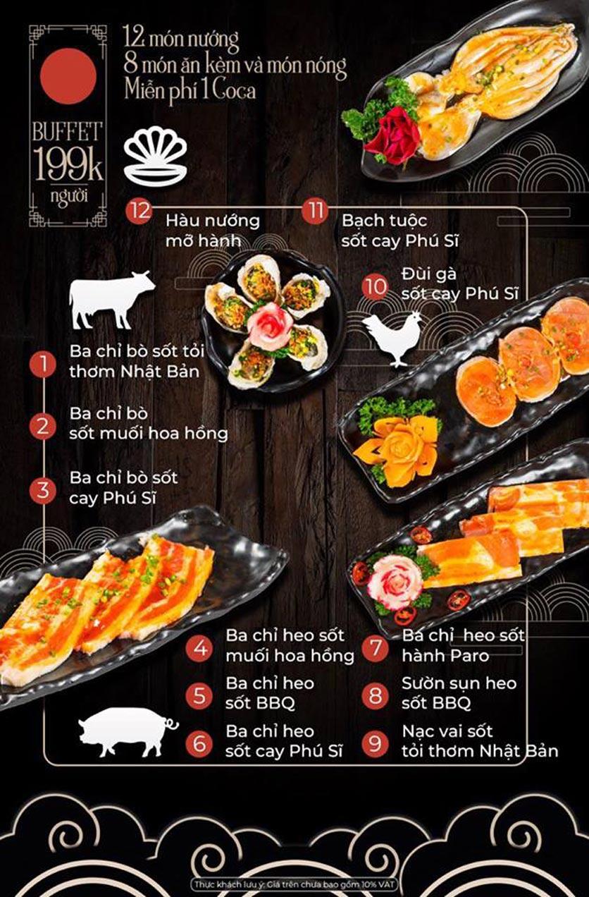 Menu Kỳ Ngư Restaurant - Vũ Tông Phan 2