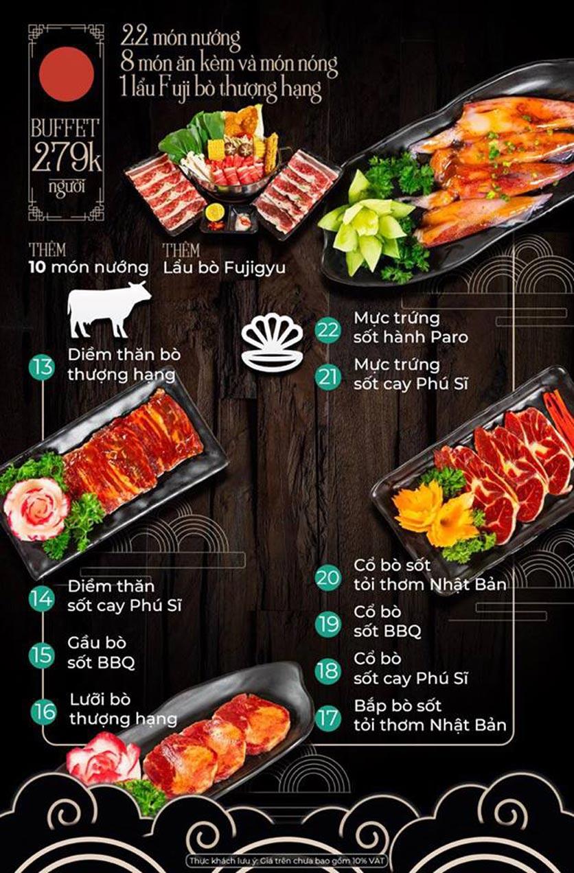 Menu Kỳ Ngư Restaurant - Vũ Tông Phan 3