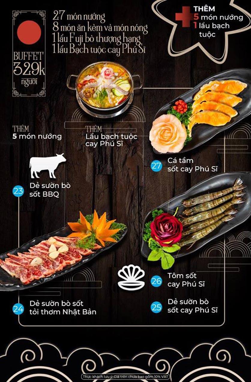 Menu Kỳ Ngư Restaurant - Vũ Tông Phan 4