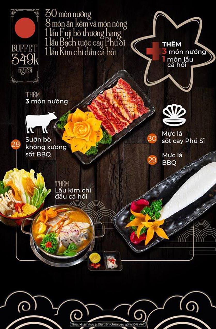 Menu Kỳ Ngư Restaurant - Vũ Tông Phan 5