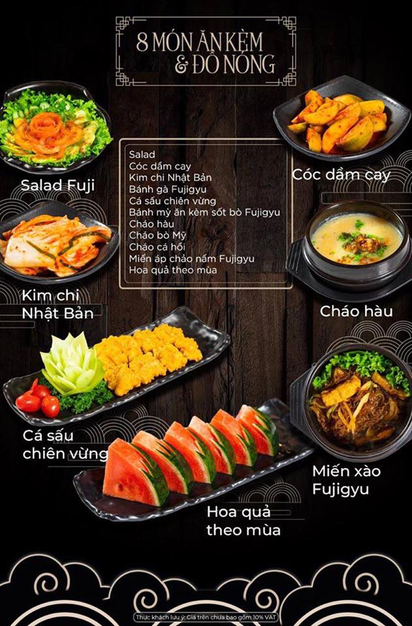 Menu Kỳ Ngư Restaurant - Vũ Tông Phan 6