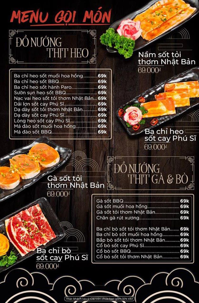 Menu Kỳ Ngư Restaurant - Vũ Tông Phan 8