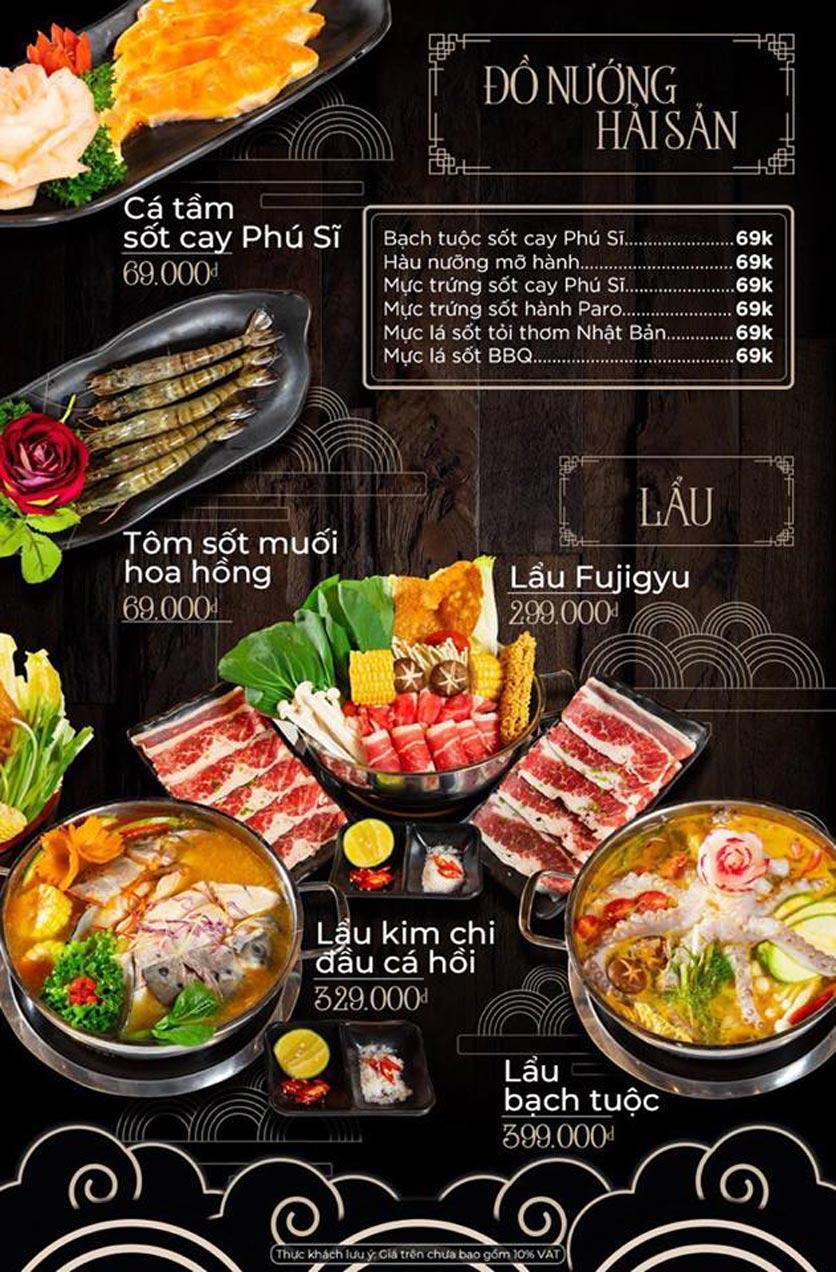Menu Kỳ Ngư Restaurant - Vũ Tông Phan 9