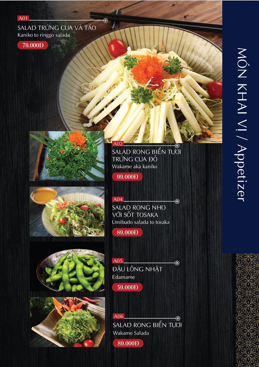 Menu G8 Osake House - Nguyễn Tri Phương 5