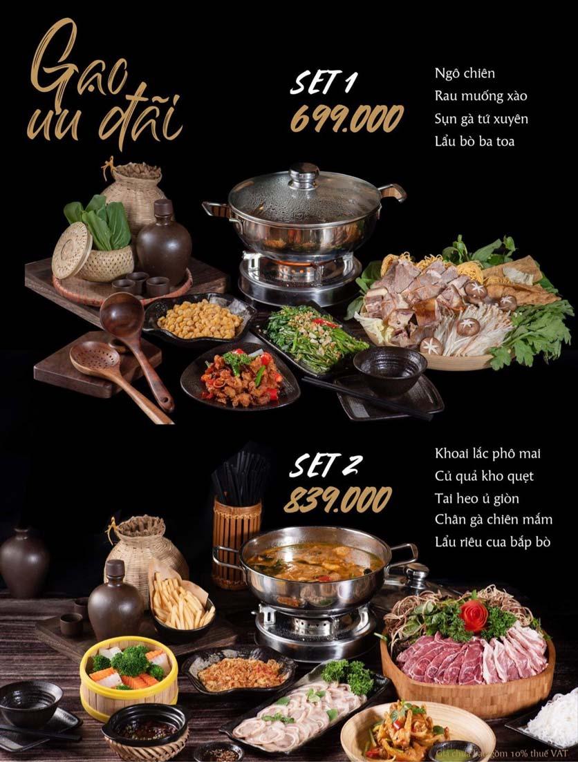 Menu Gạo Restaurant - Đào Duy Từ 3