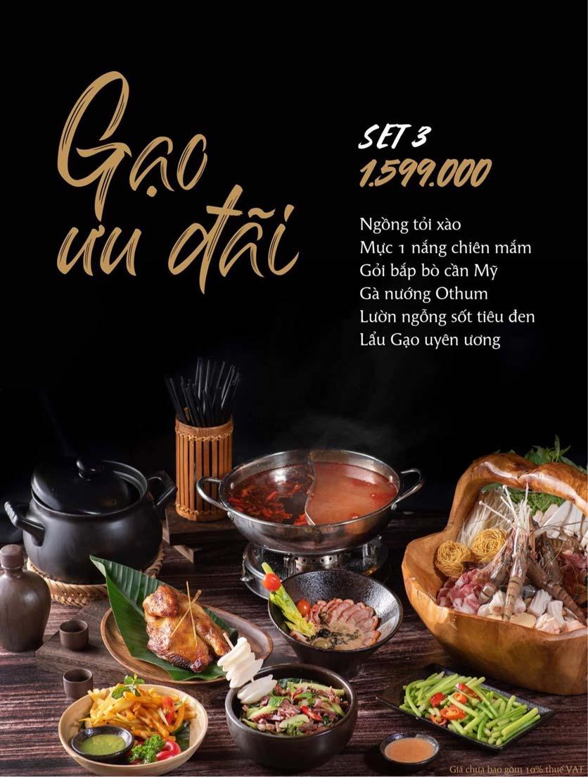 Menu Gạo Restaurant - Đào Duy Từ 4