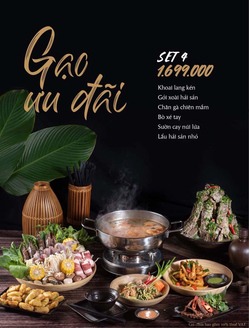 Menu Gạo Restaurant - Đào Duy Từ 5