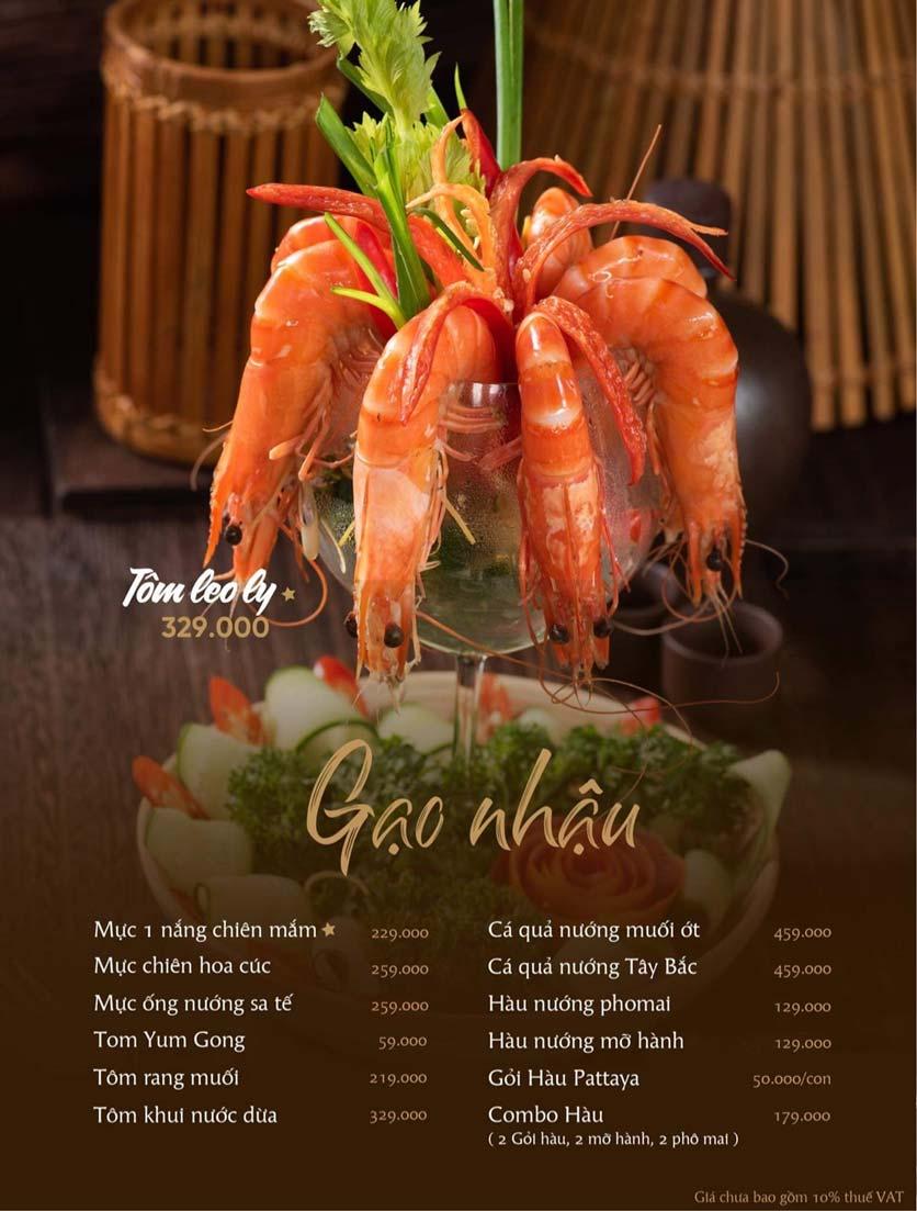 Menu Gạo Restaurant - Đào Duy Từ 8