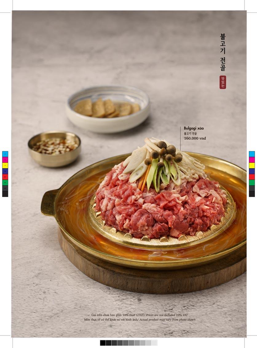 Menu GoGi Steak House - Lê Văn Lương 7
