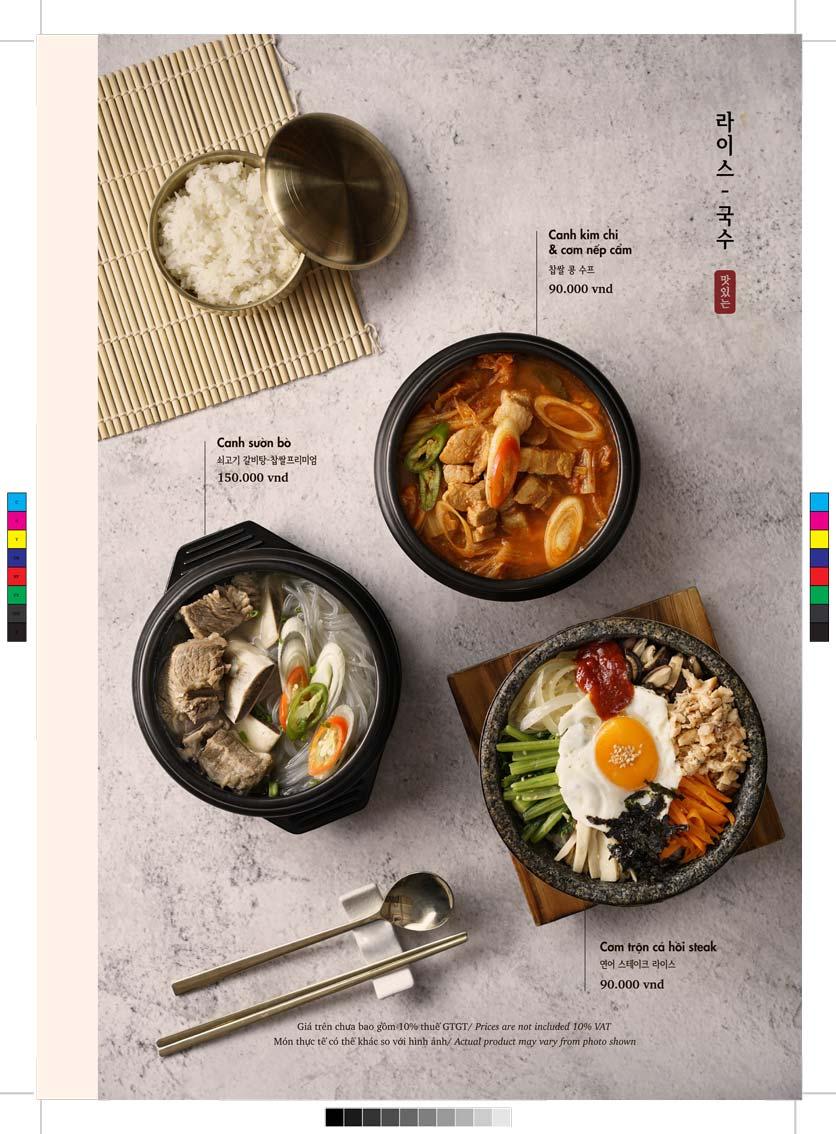 Menu GoGi Steak House - Lê Văn Lương 9