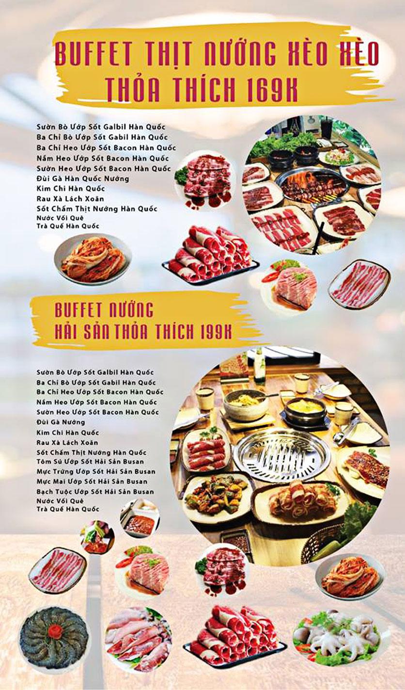Menu GOPchain – Quán thịt nướng & lẩu Hàn Quốc – Đường 19/5 3