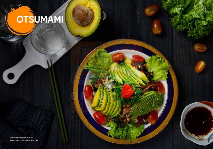 Menu Grand Sushi KO - Xuân Thủy 1