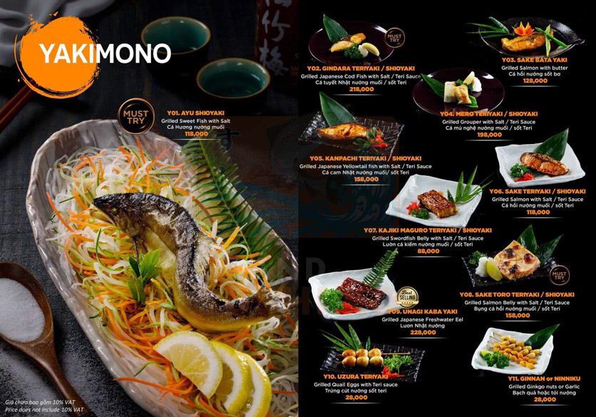 Menu Grand Sushi KO - Xuân Thủy 14