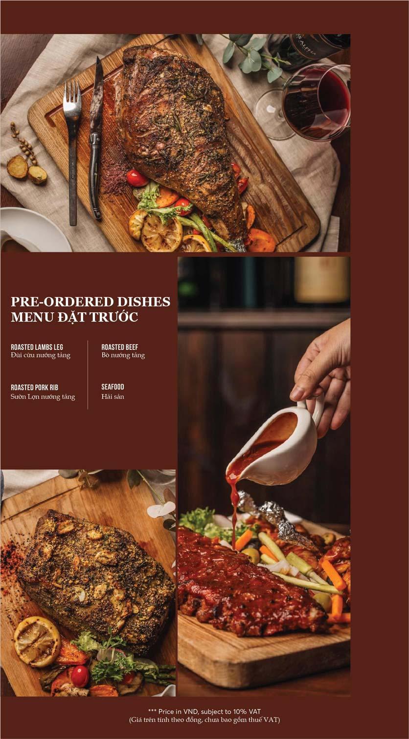 Menu GRILLE6 Steakhouse - Lê Văn Hưu 14