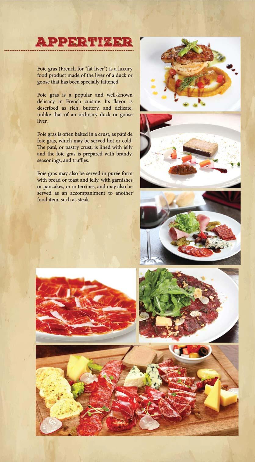 Menu GRILLE6 Steakhouse - Lê Văn Hưu 5