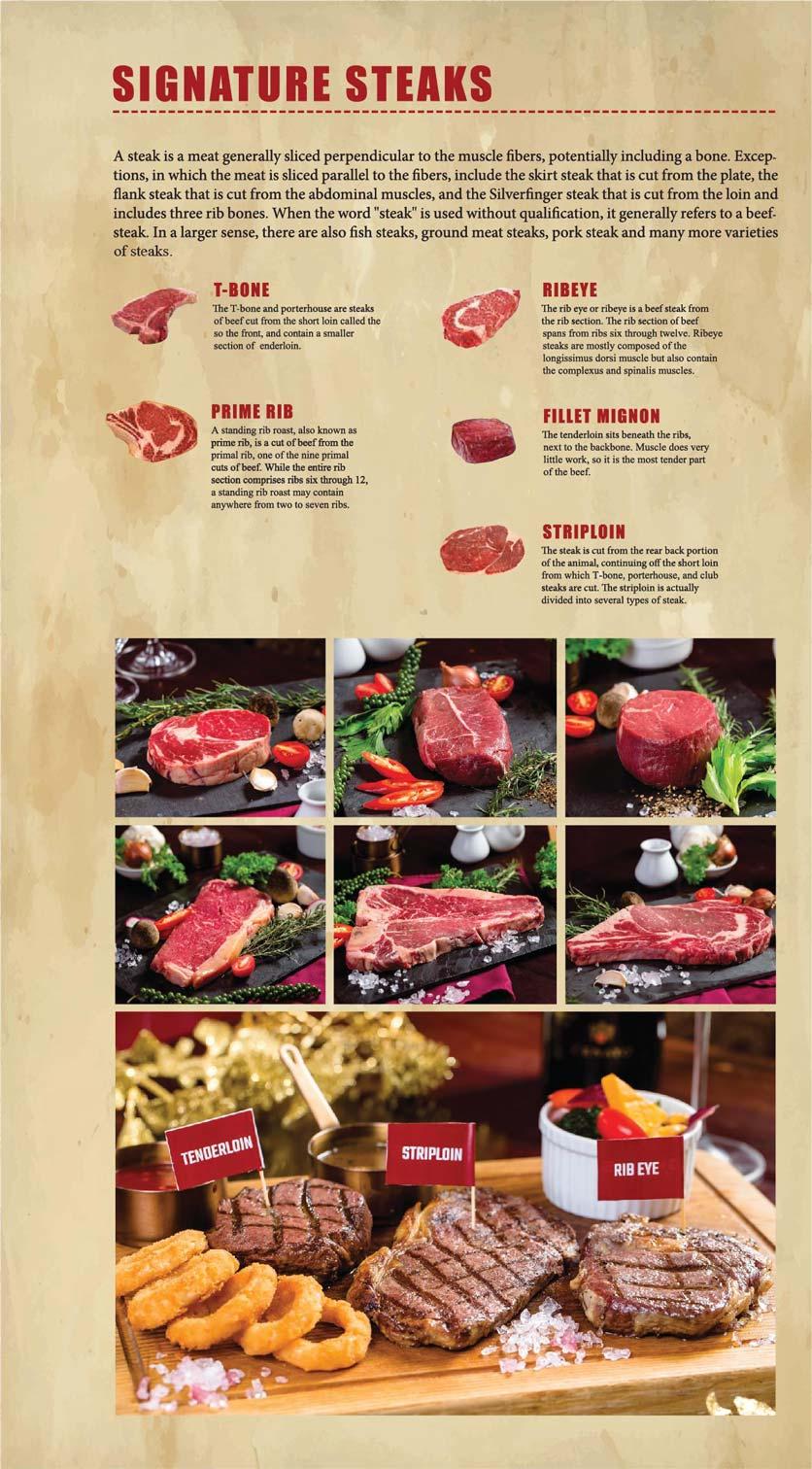 Menu GRILL66 Steakhouse - Hào Nam 6