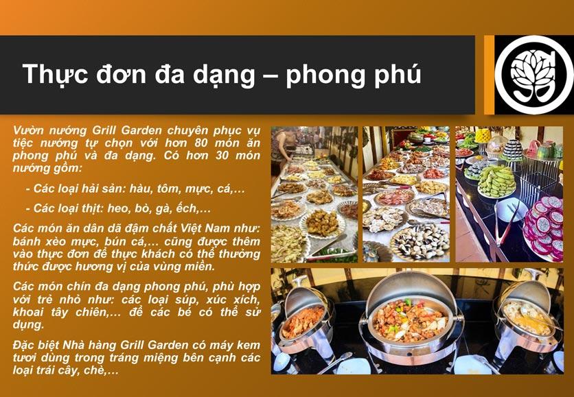 Menu Grill Garden 2 – Trần Phú  2