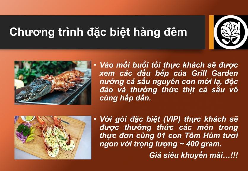Menu Grill Garden 2 – Trần Phú  3
