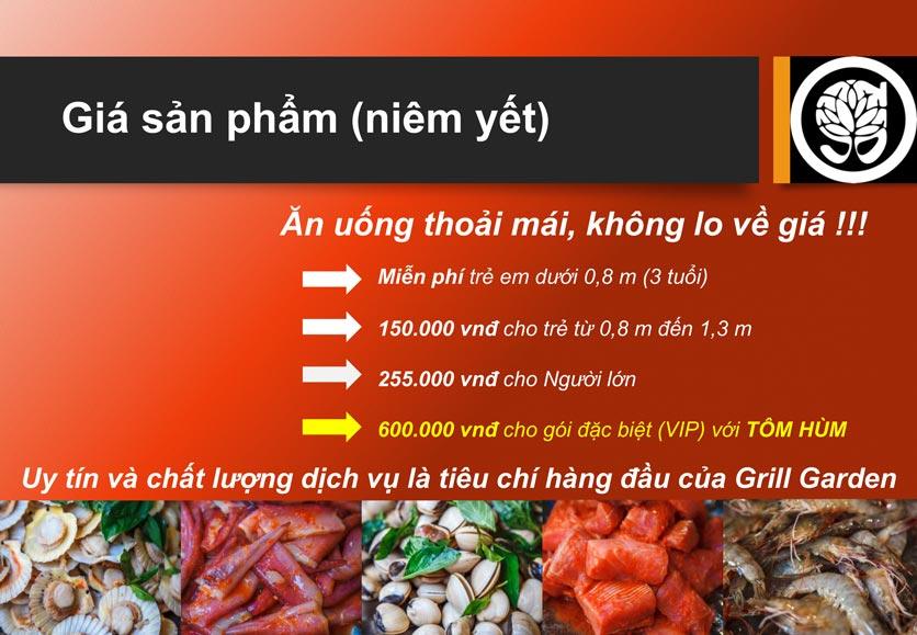 Menu Grill Garden 2 – Trần Phú  4