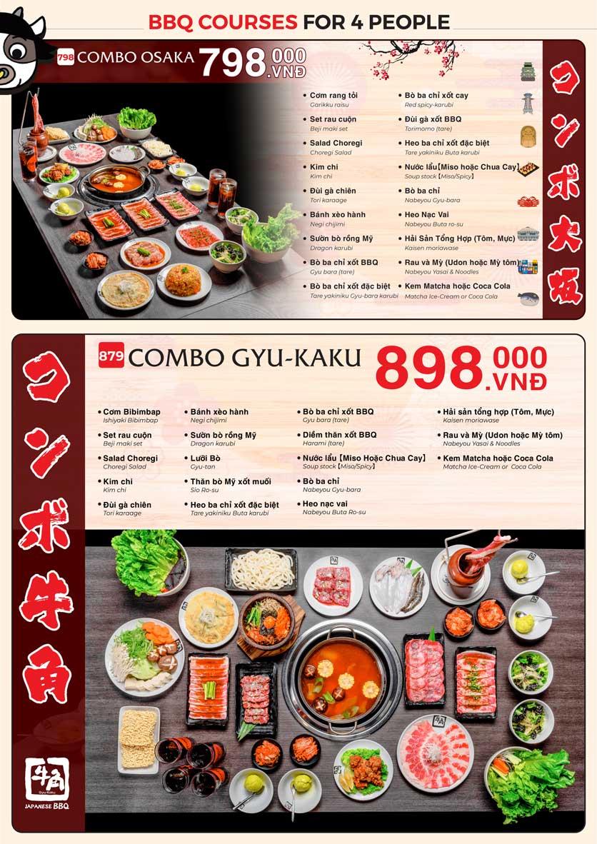 Menu Gyu-Kaku – Aeon Mall Tân Phú 2