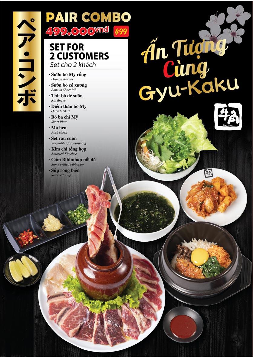 Menu Gyu-Kaku - Kim Mã 1