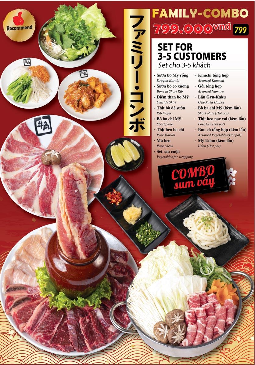 Menu Gyu-Kaku - Kim Mã 2
