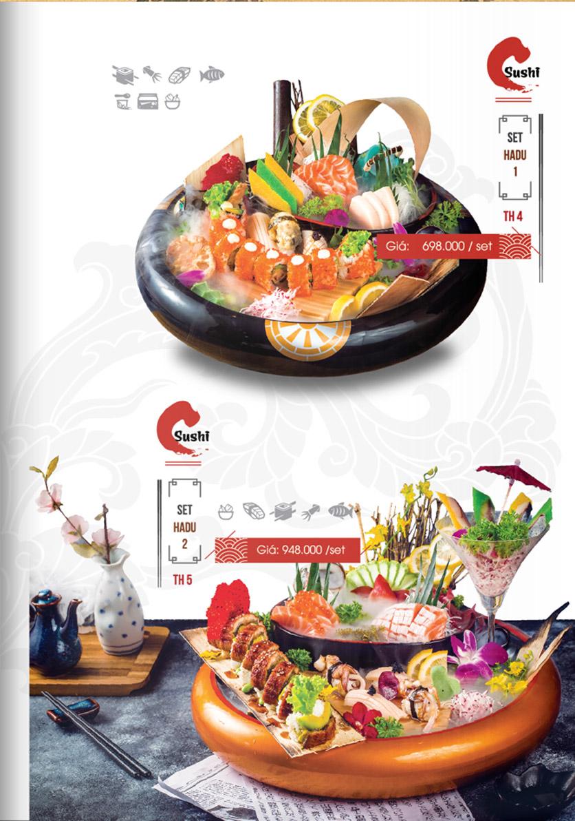 Menu Hadu.Sushi - Xã Đàn     18
