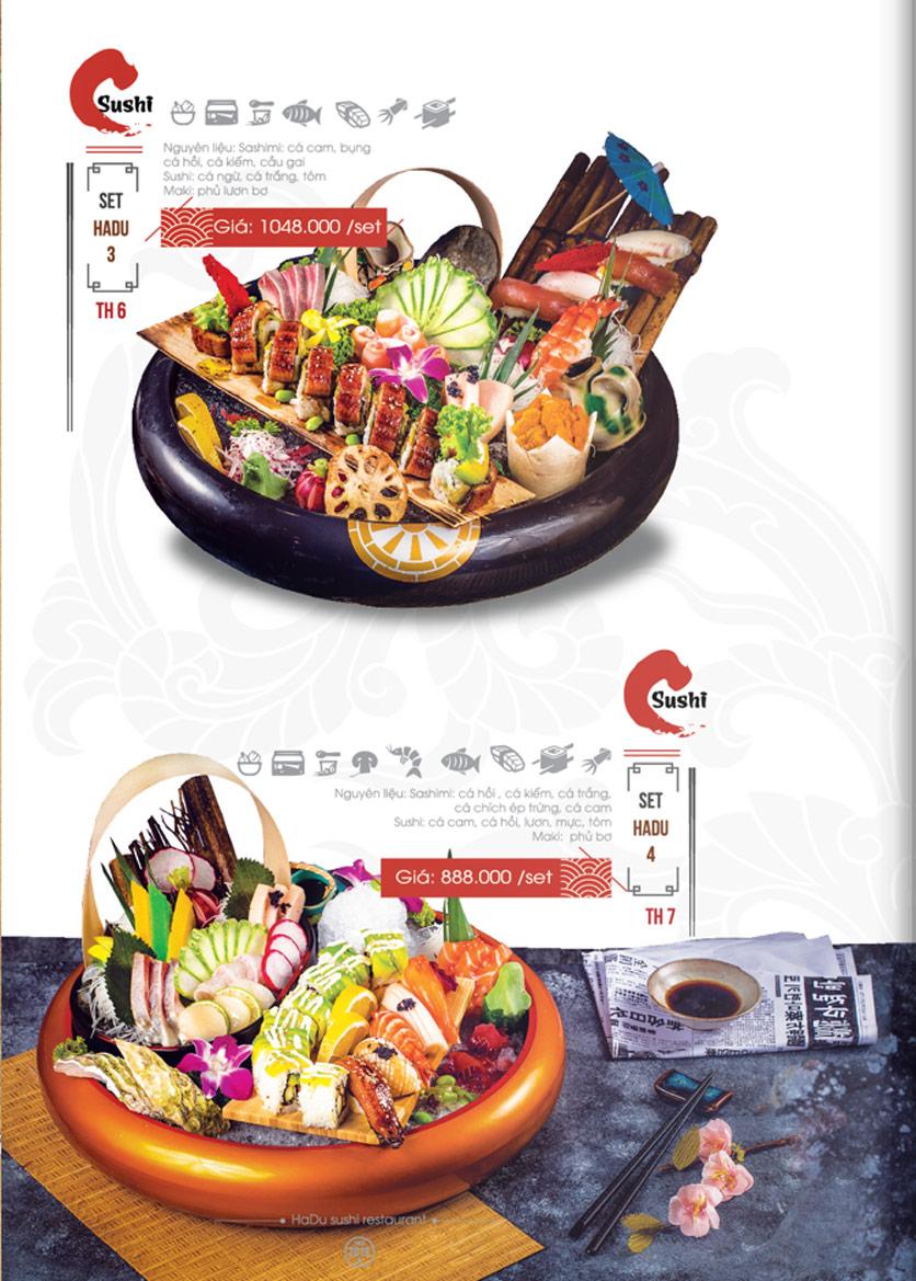 Menu Hadu.Sushi - Xã Đàn     19