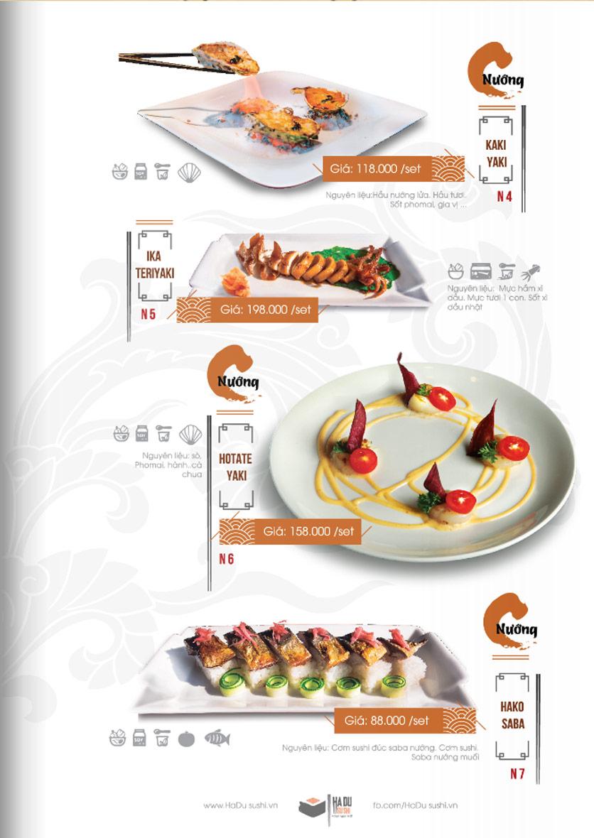 Menu Hadu.Sushi - Xã Đàn     22