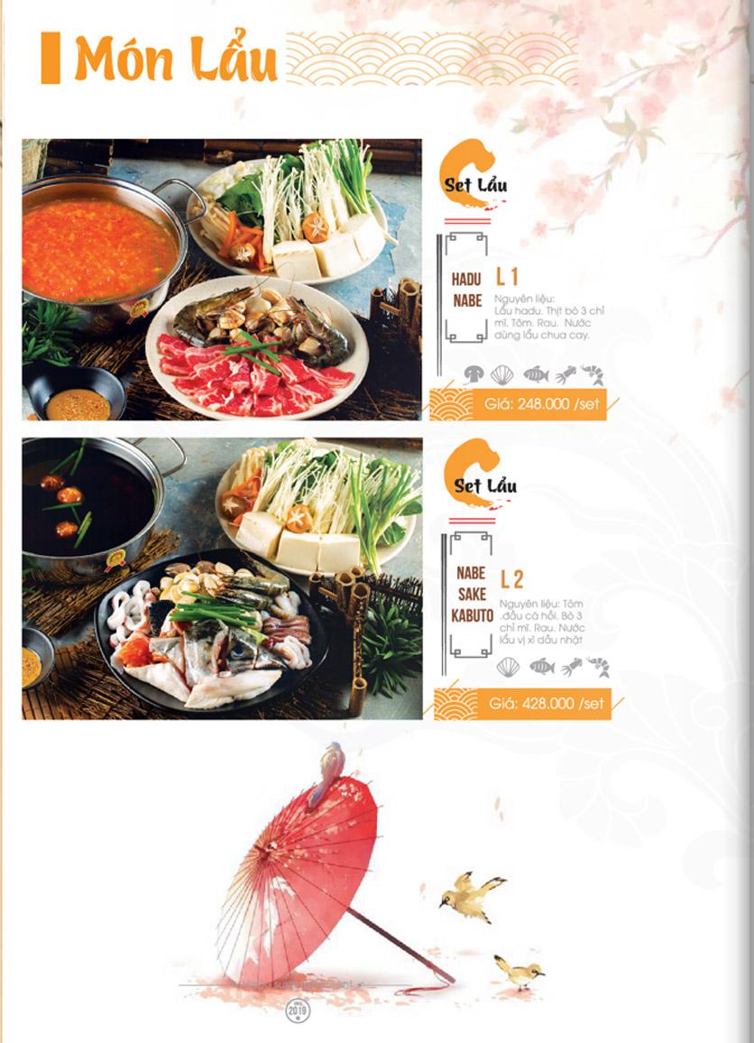 Menu Hadu.Sushi - Xã Đàn     29
