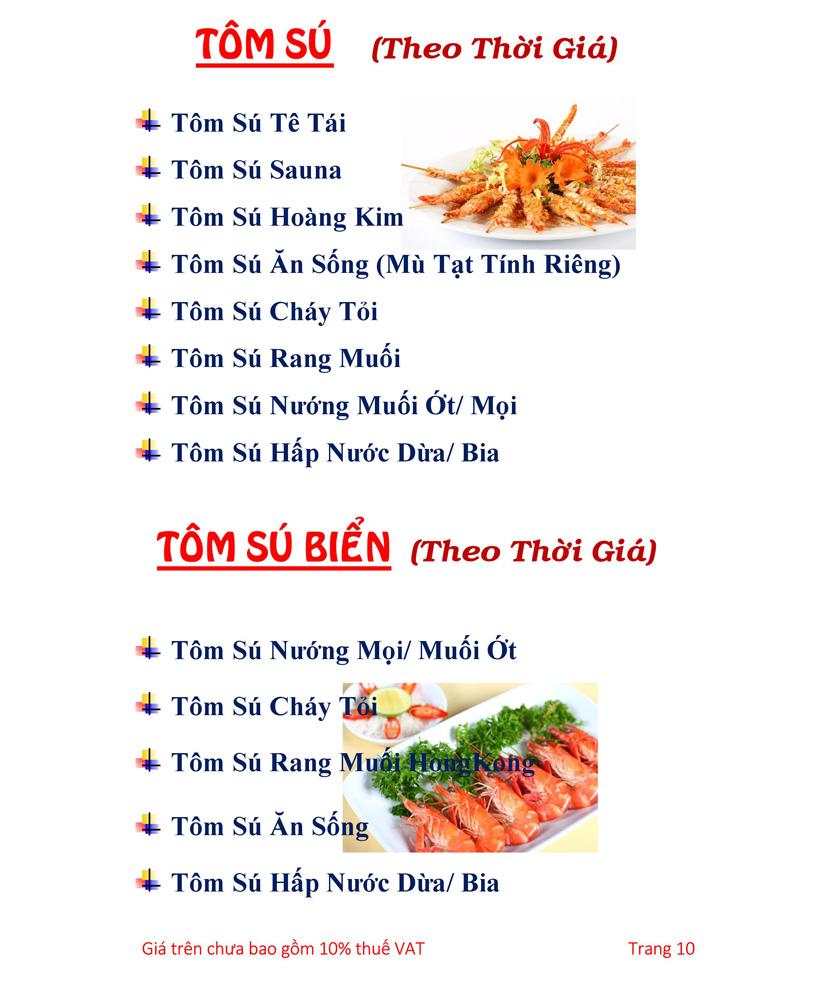 Menu Hải sản Hải Châu 3 - Nguyễn Thị Nhỏ 15