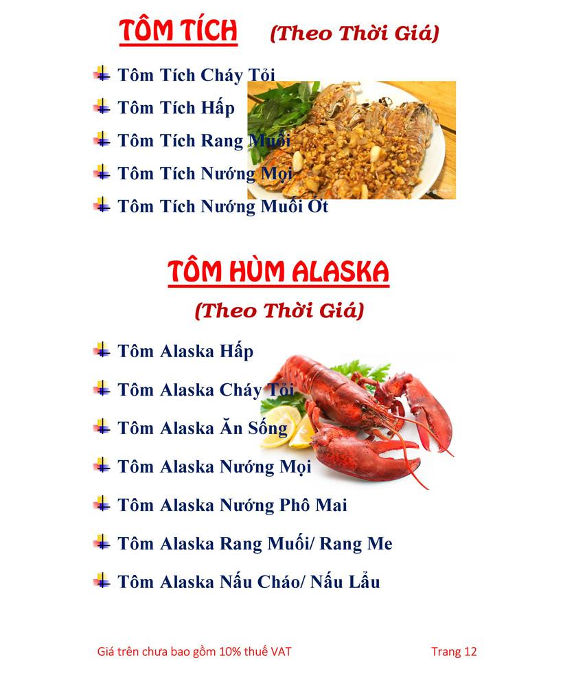 Menu Hải sản Hải Châu 3 - Nguyễn Thị Nhỏ 17