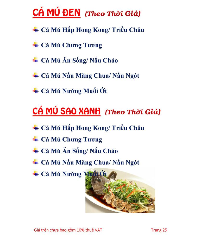 Menu Hải sản Hải Châu 3 - Nguyễn Thị Nhỏ 30