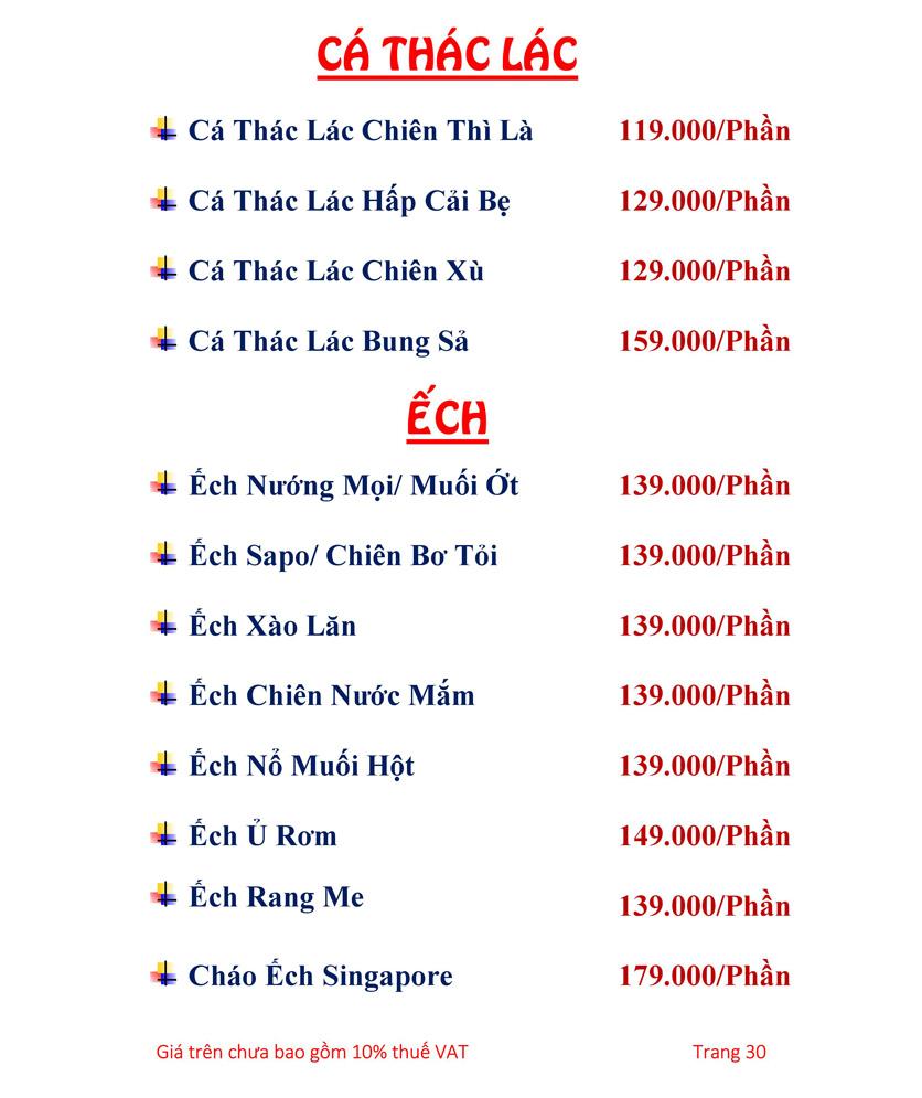 Menu Hải sản Hải Châu 3 - Nguyễn Thị Nhỏ 35