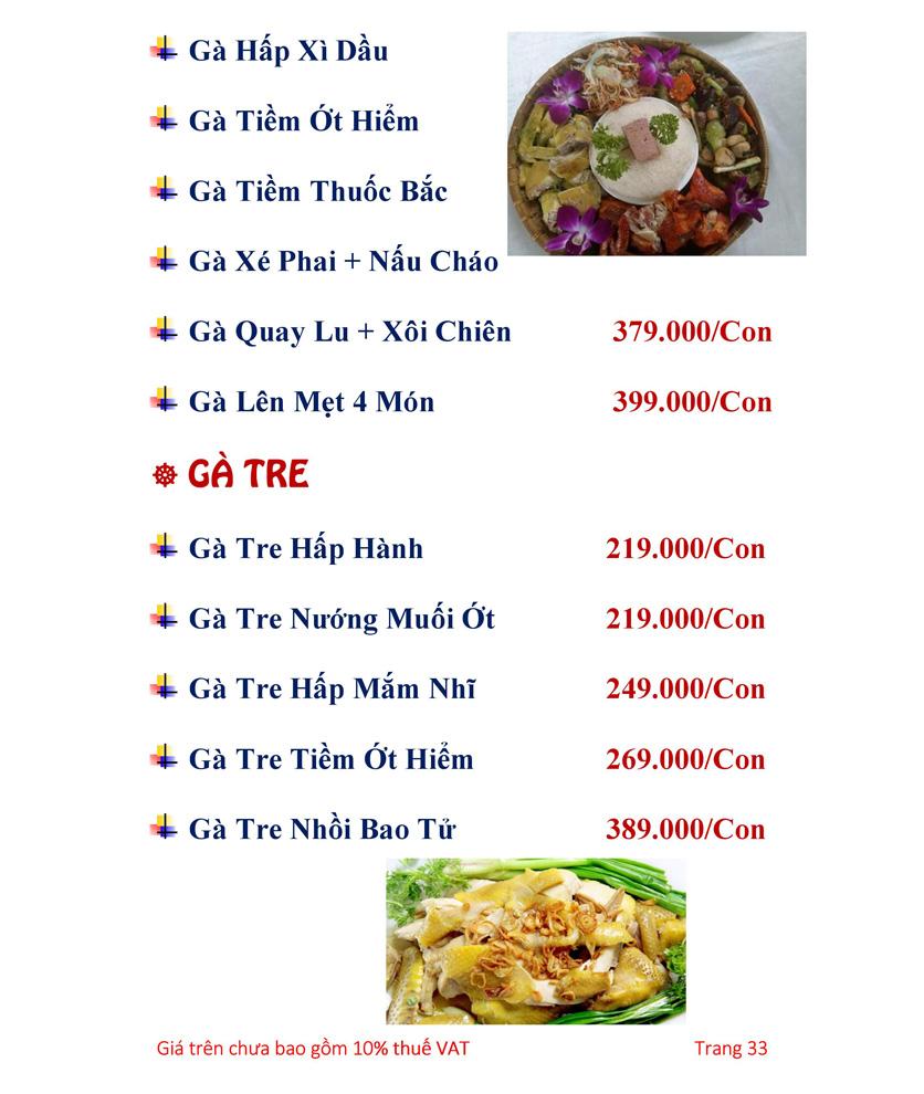 Menu Hải sản Hải Châu 3 - Nguyễn Thị Nhỏ 38