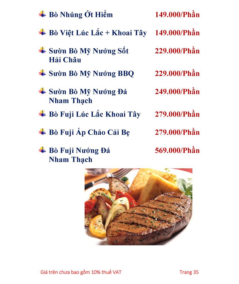 Menu Hải sản Hải Châu 3 - Nguyễn Thị Nhỏ 40