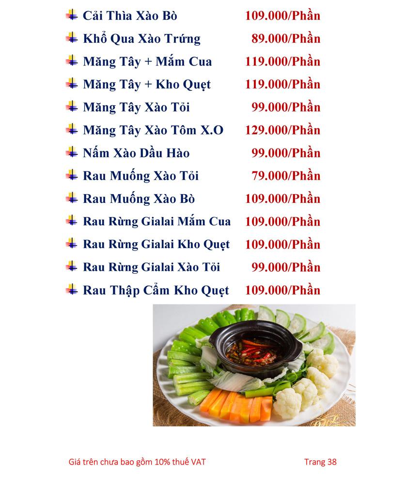 Menu Hải sản Hải Châu 3 - Nguyễn Thị Nhỏ 43