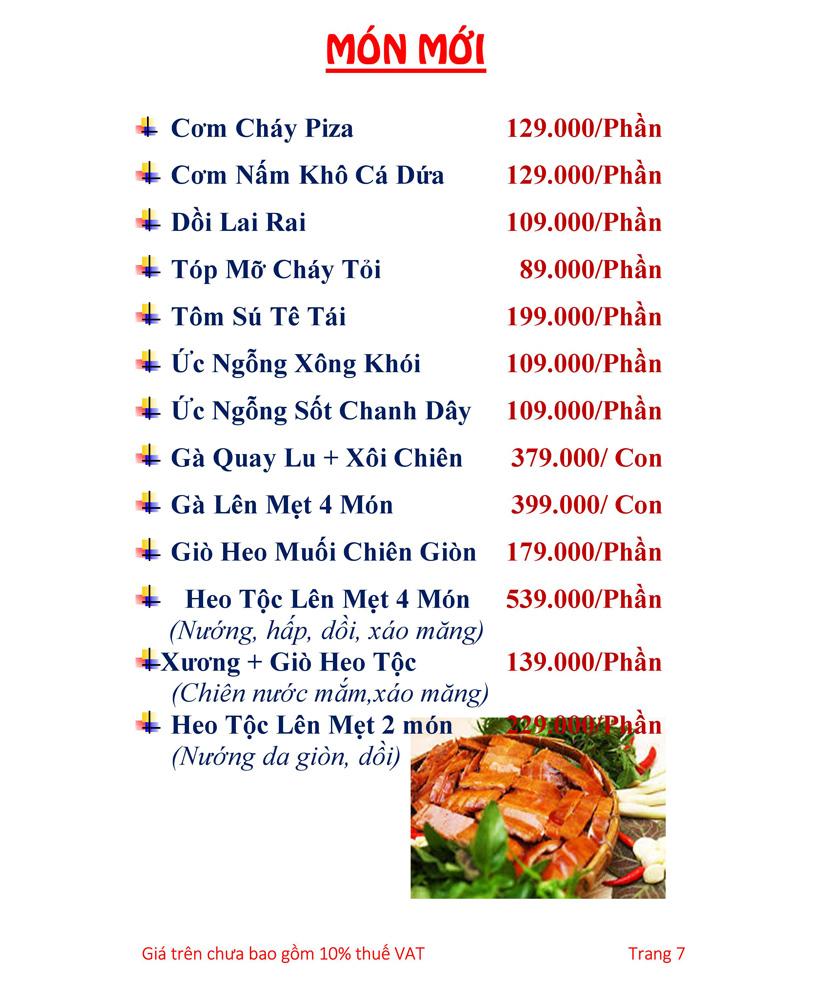 Menu Hải sản Hải Châu 3 - Nguyễn Thị Nhỏ 12