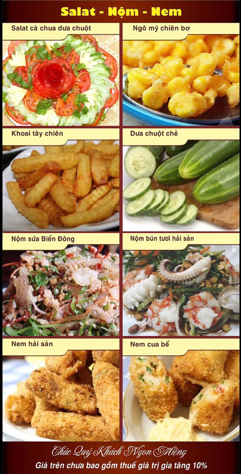 Menu Hải Sản Nhà Tôi - Nguyễn Văn Tuyết 1