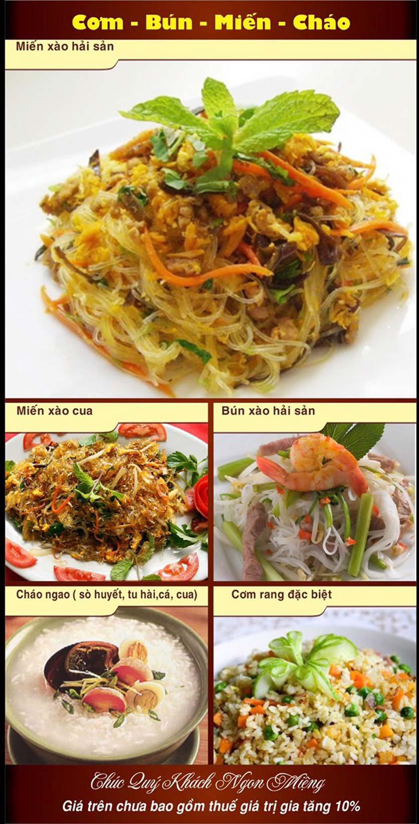 Menu Hải Sản Nhà Tôi - Nguyễn Văn Tuyết 9