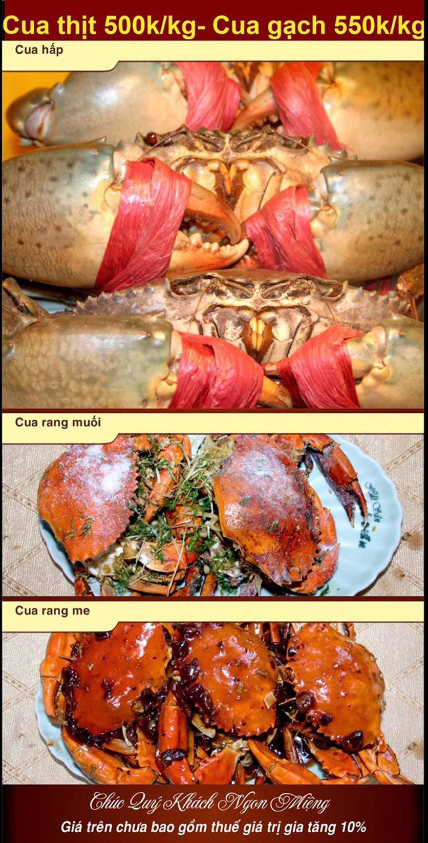 Menu Hải Sản Nhà Tôi - Nguyễn Văn Tuyết 4