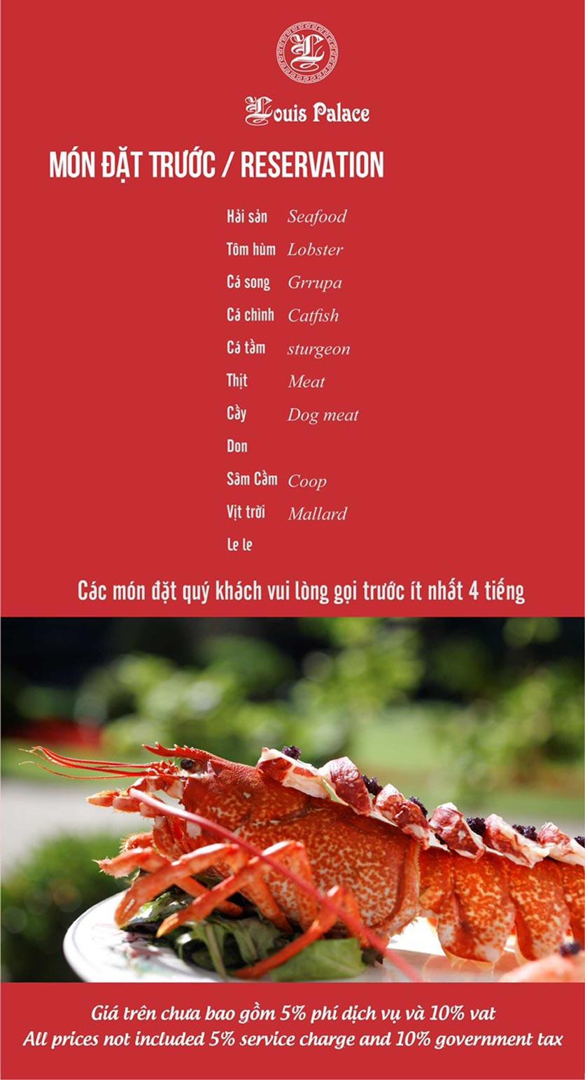 Menu Hầm Rượu Vang Louis - Hoàng Hoa Thám 10