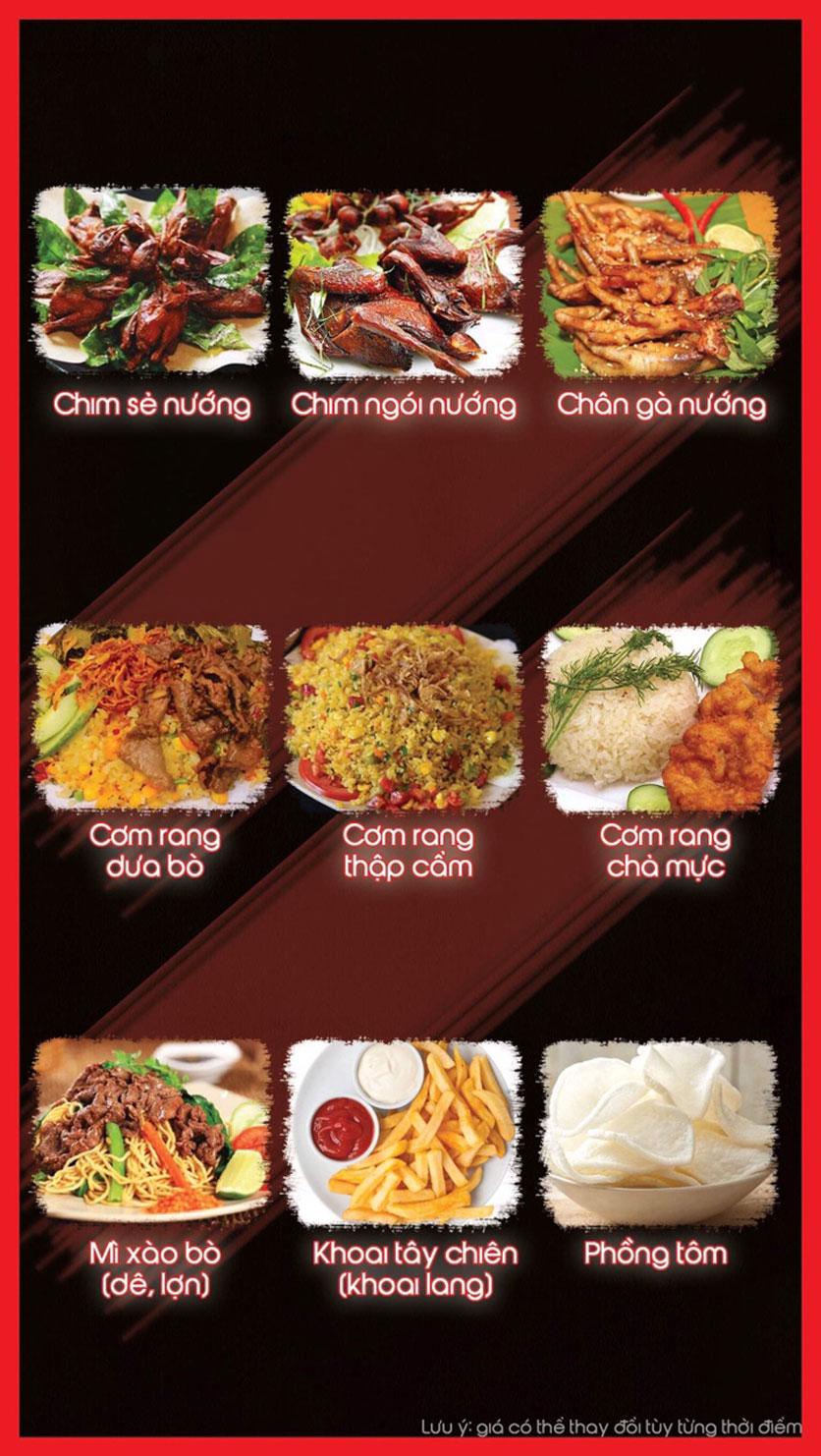 Menu Hoa Ban - Nguyễn Chí Thanh 4
