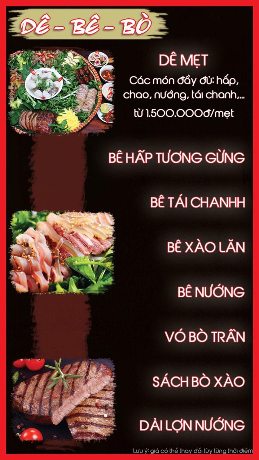 Menu Hoa Ban - Nguyễn Chí Thanh 6