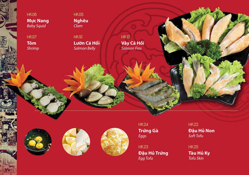Menu HongKong Town - Nam Kỳ Khởi Nghĩa 11