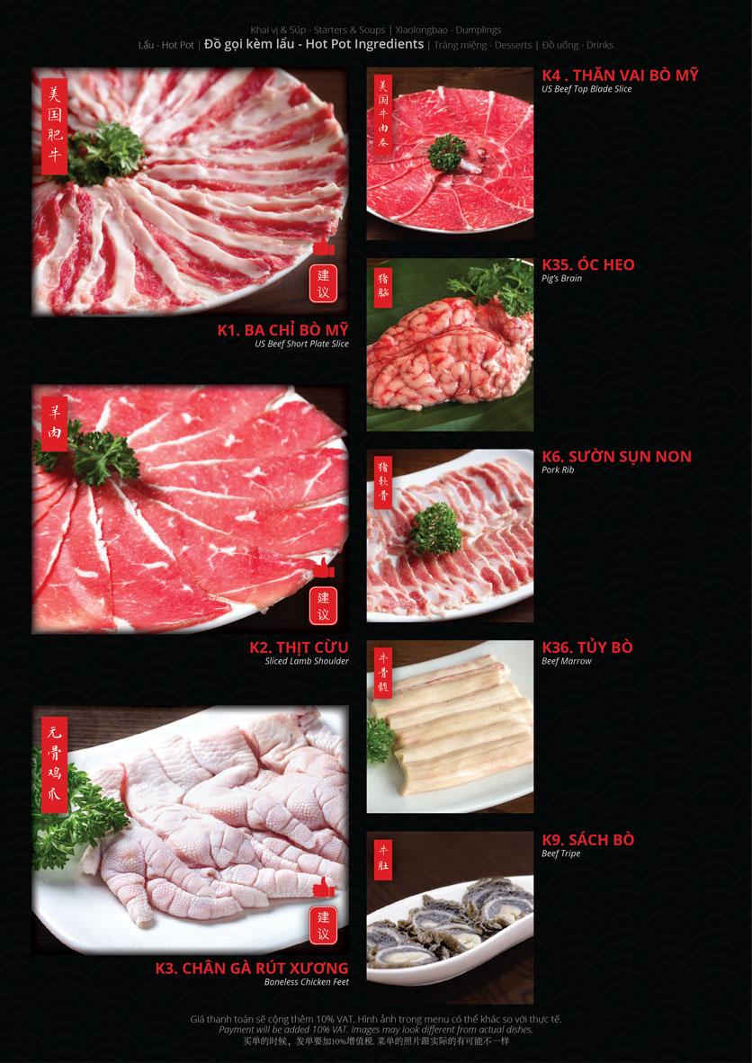 Menu Hoolong - Dumpling Bar - Lê Văn Lương   11