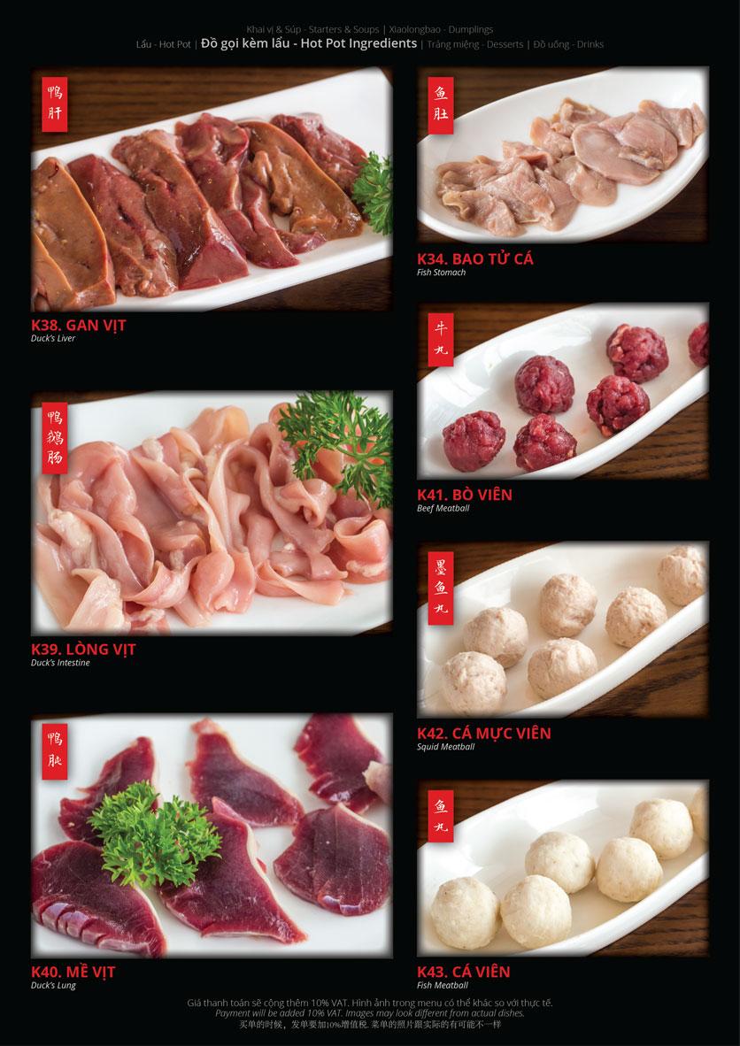 Menu Hoolong - Dumpling Bar - Lê Văn Lương   13