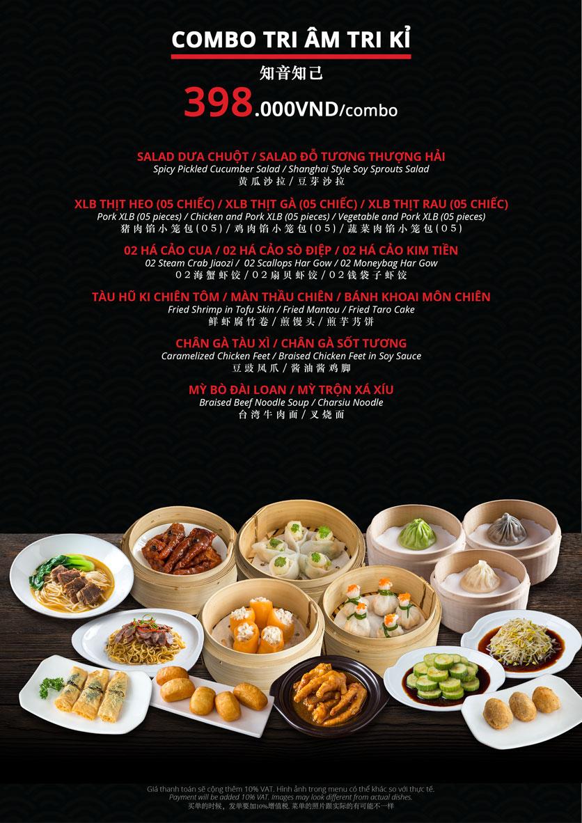 Menu Hoolong - Dumpling Bar - Lê Văn Lương   19