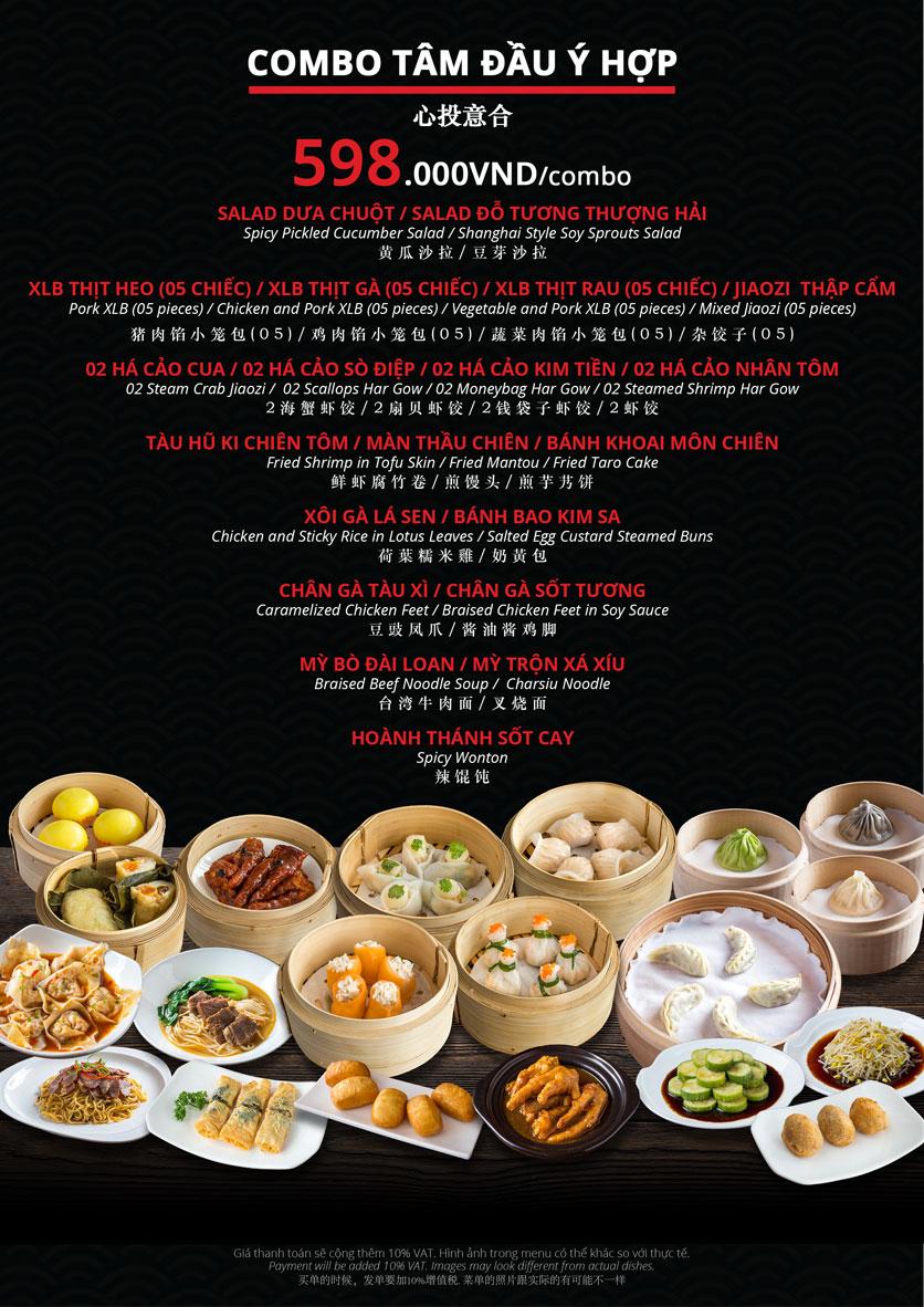 Menu Hoolong - Dumpling Bar - Lê Văn Lương   20