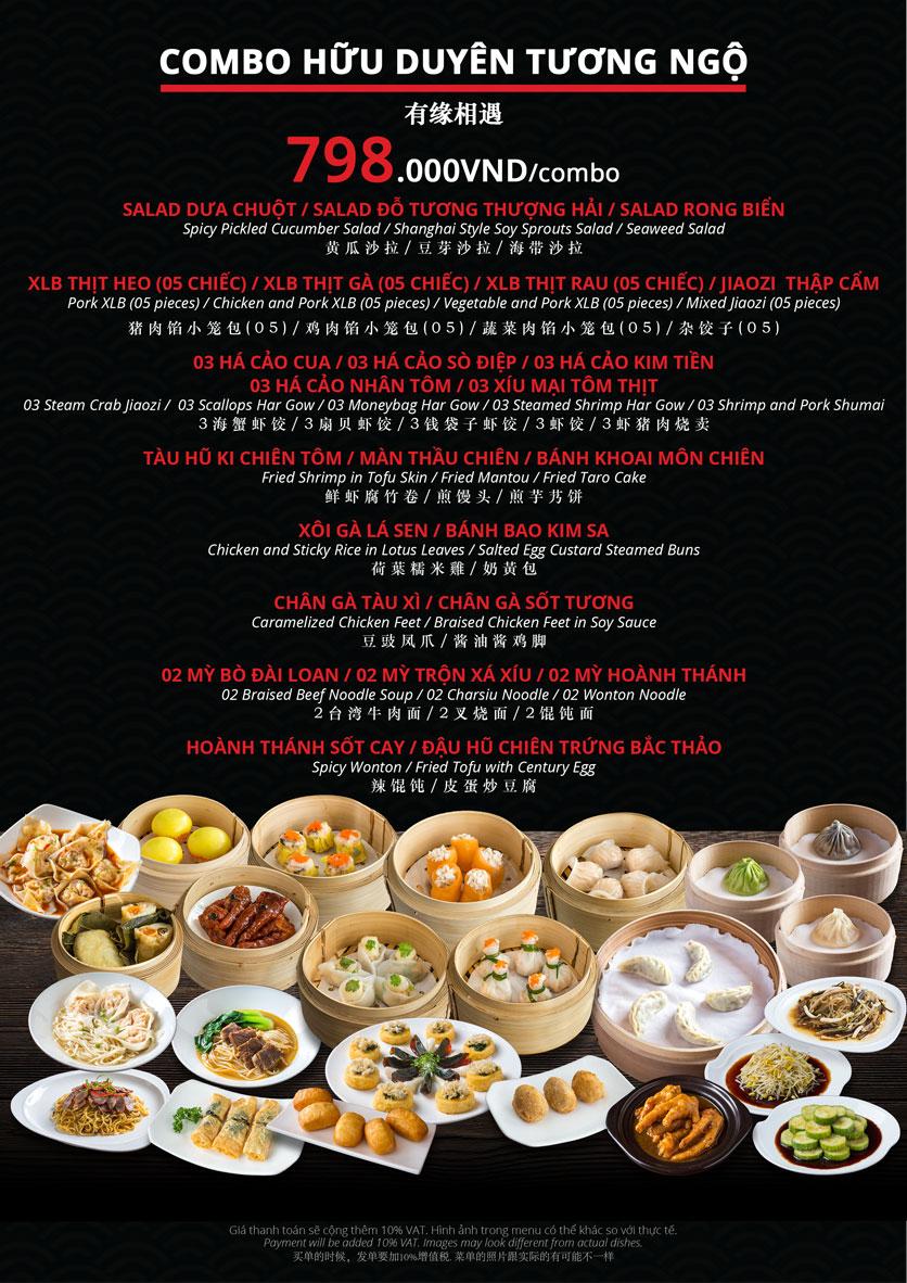 Menu Hoolong - Dumpling Bar - Lê Văn Lương   21